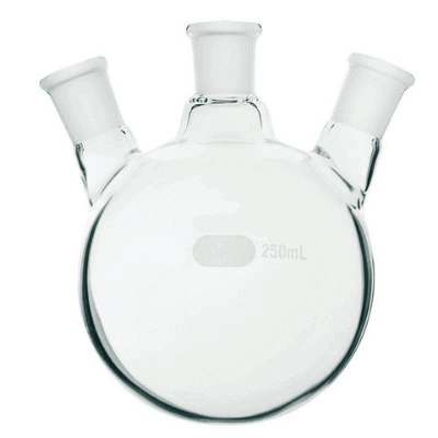 Round Bottom Flasks Jointed Three Neck