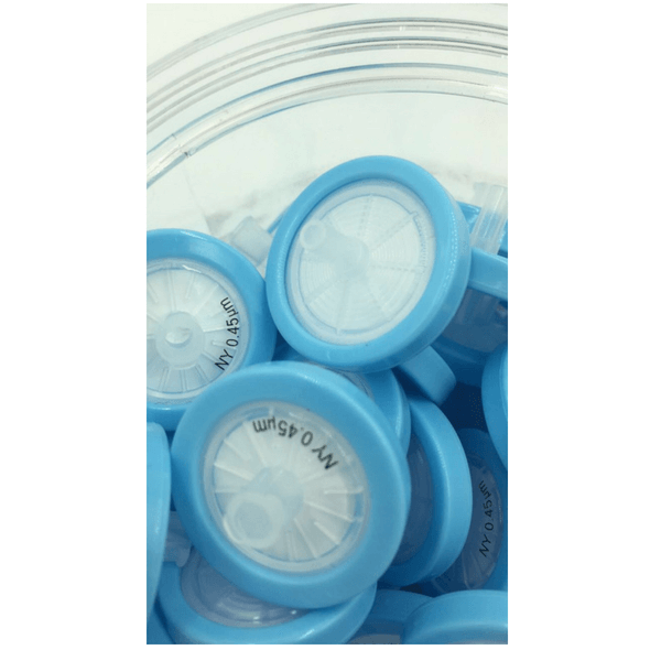 25mm Syringe Filter with NYLON Membrane 0.45um, Various Pack Sizes -  Science Lab Equipment | Science Equip Australia