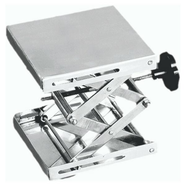 Laboratory Scissor Jack, Stainless Steel -  Science Lab Equipment | Science Equip Australia