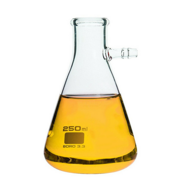 Conical Filtering Flasks with Integral Side Arm, Borosilicate Glass -  Science Lab Equipment | Science Equip Australia