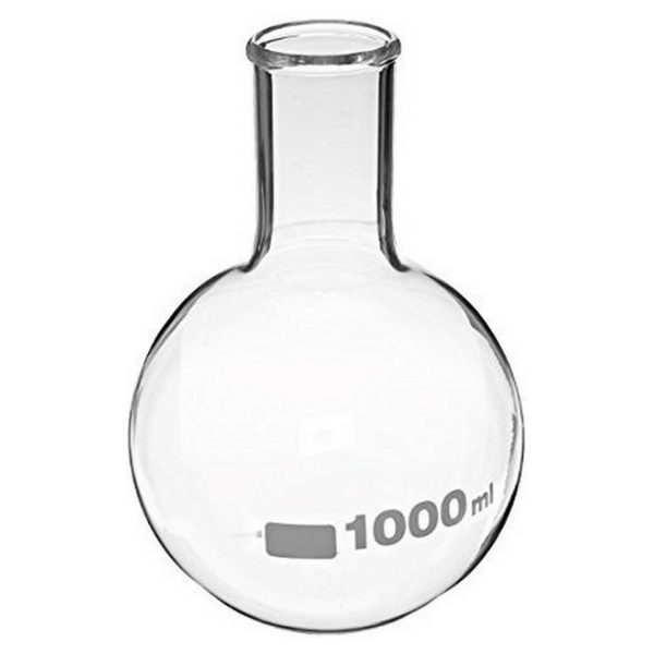Round Bottom Flasks, Borosilicate Glass -  Science Lab Equipment | Science Equip Australia