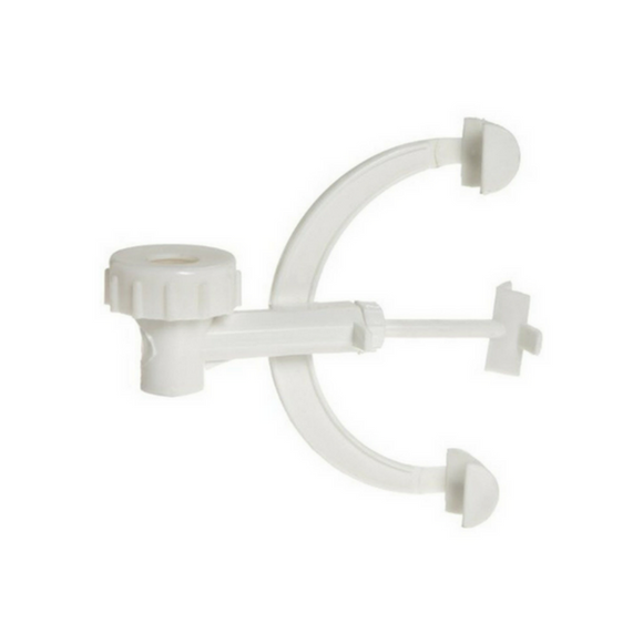 Fisher Single Burette Clamps, Polypropylene - ScienceEquip