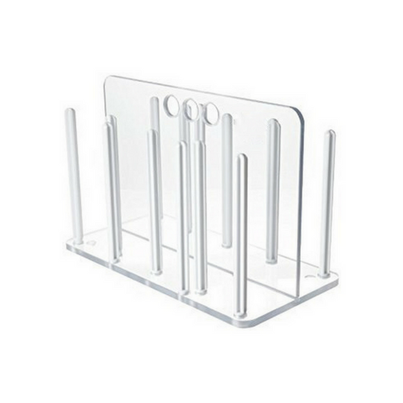 Rack for Petri Dishes, Polycarbonate - ScienceEquip
