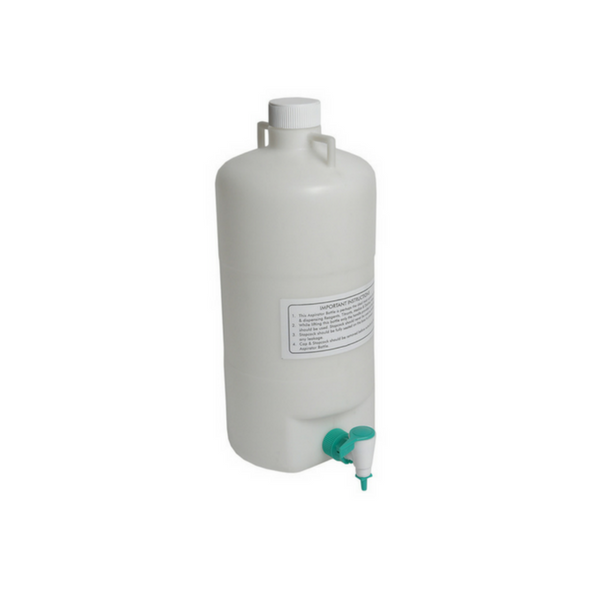 Aspirator Bottles, Polypropylene -  Science Lab Equipment | Science Equip Australia