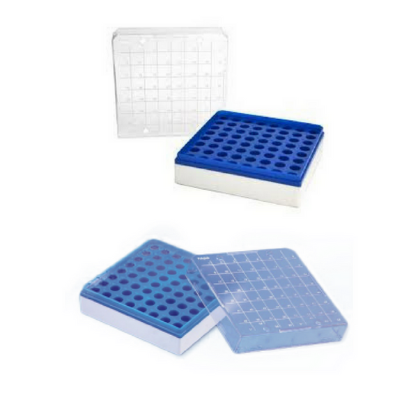 Micro Centrifuge Tube Boxes, Polycarbonate -  Science Lab Equipment | Science Equip Australia