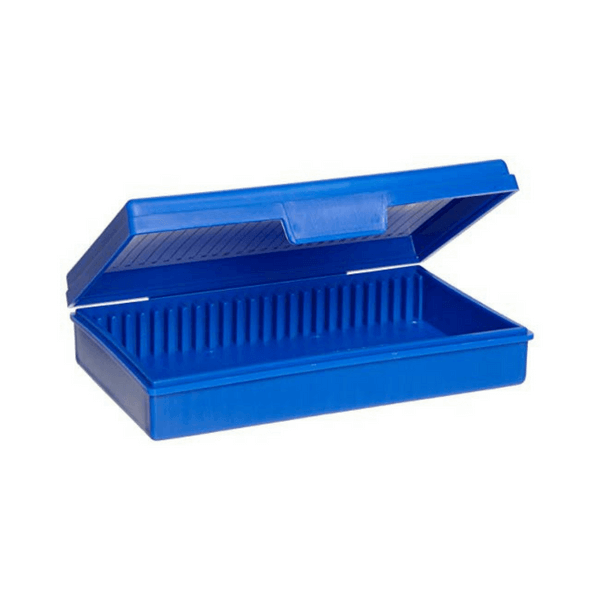 Slide Boxes with Hinges, Polystyrene -  Science Lab Equipment | Science Equip Australia