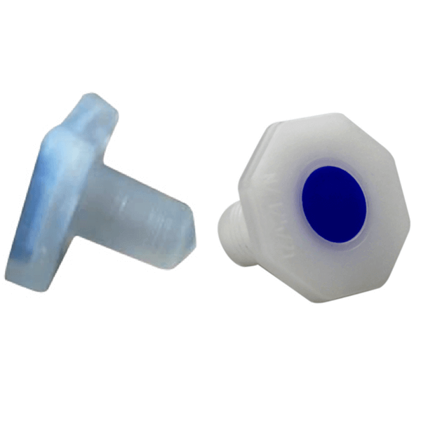 Stopper, Octagon Knob for Socket Joints, Polyethylene -  Science Lab Equipment | Science Equip Australia