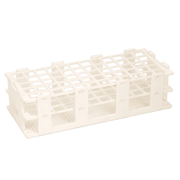 Plastic Test Tube Rack Folding, 20mm x 40 Holes -  Science Lab Equipment | Science Equip Australia