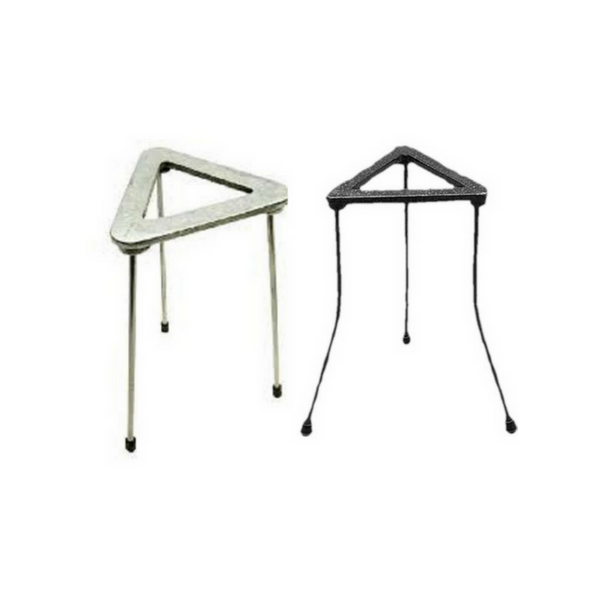 Tripod Stands, Triangular, Cast Iron -  Science Lab Equipment | Science Equip Australia