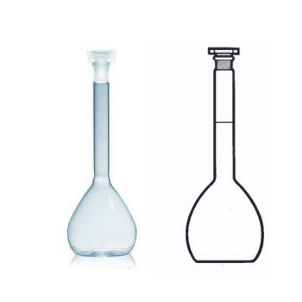 Volumetric Flasks With Sockets BS 1792, Class A, Fused Quartz -  Science Lab Equipment | Science Equip Australia