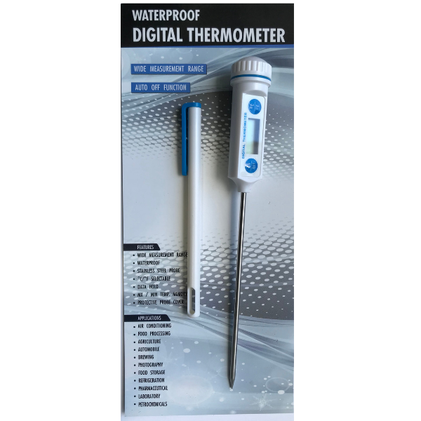 Digital Thermometer Waterproof -  Science Lab Equipment | Science Equip Australia