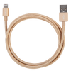 iStore Lightning Charge 4ft (1.2m) Braided Cable (Gold)