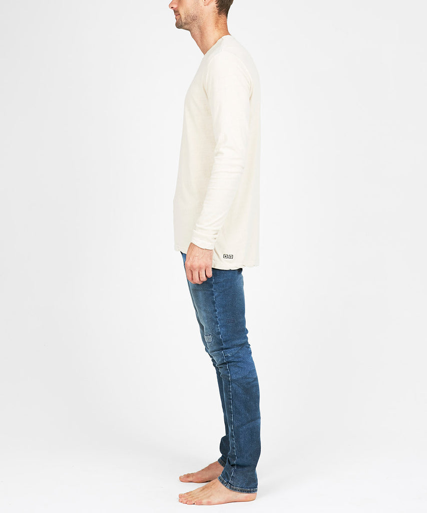 VICES NEP LONG SLEEVE T-SHIRT PUTTY