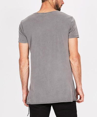 Seeing Lines Short Sleeve T-Shirt Grey