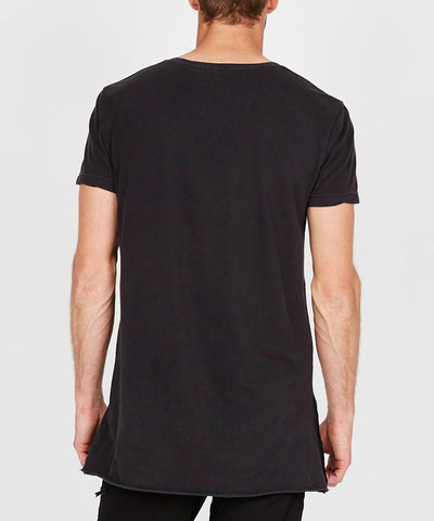 Seeing Lines Short Sleeve T-Shirt Black