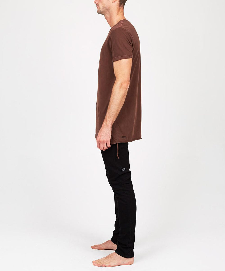 Seeing Lines Short Sleeve T-Shirt Ox Blood