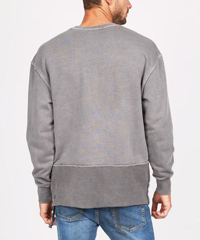 Seeing Lines Crew Sweat Vintage Grey