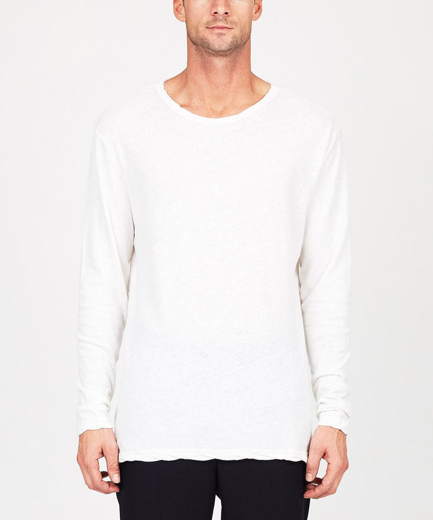 Vices Long Sleeve T-Shirt Vintage White