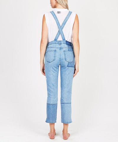 SKINNI PINI OVERALLS PATCH N PUNCH