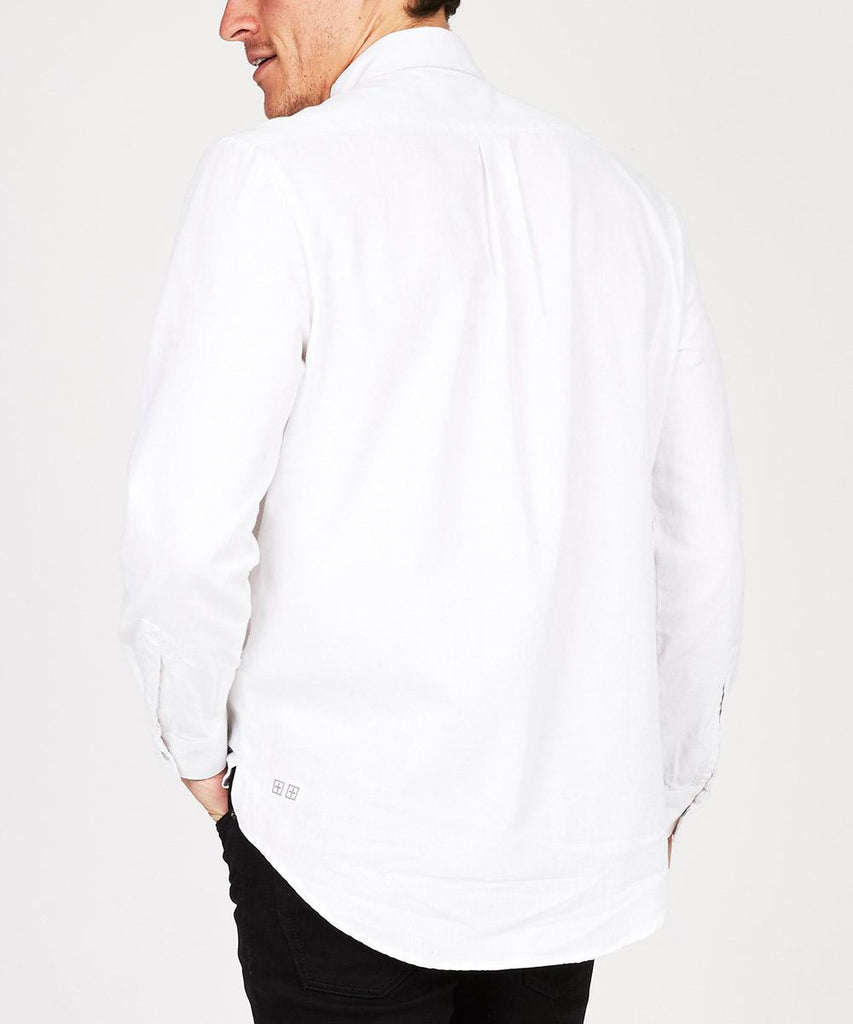 SCENTLESS LONG SLEEVE SHIRT OPTIC WHITE