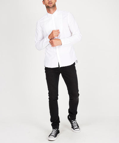 DECON TUX SHIRT WHITE