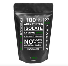 Load image into Gallery viewer, 100% Whey Protein Isolate 1 KILO (1000g/2.2lbs)
