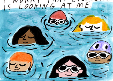 SHORT STORY: THE SWIMMING LESSON