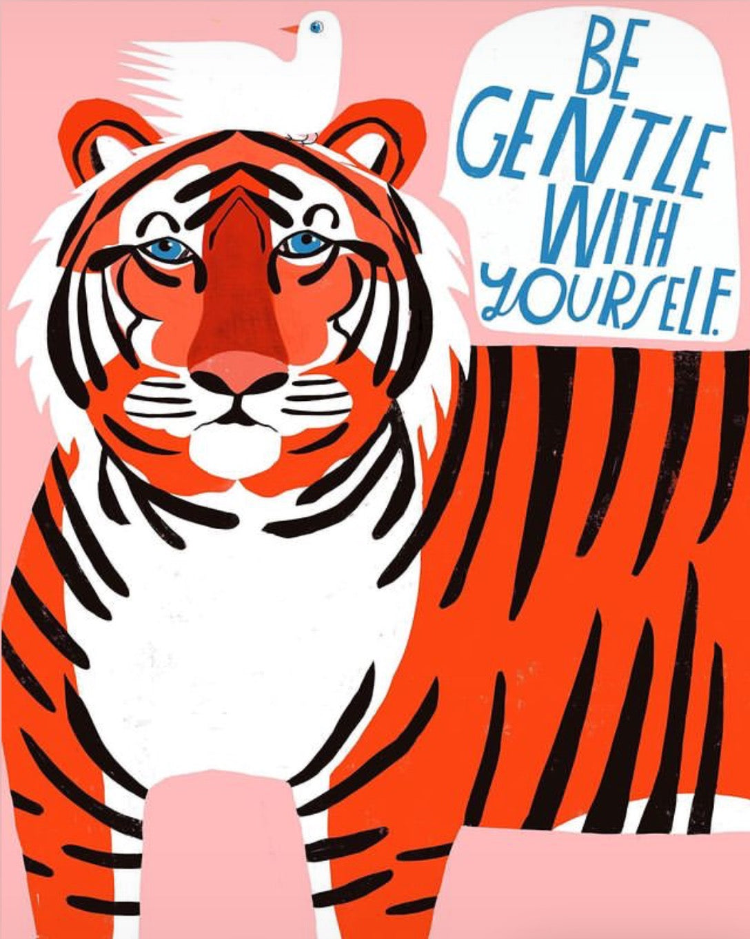 LISA CONGDON ORIGINAL TIGER WALL ART