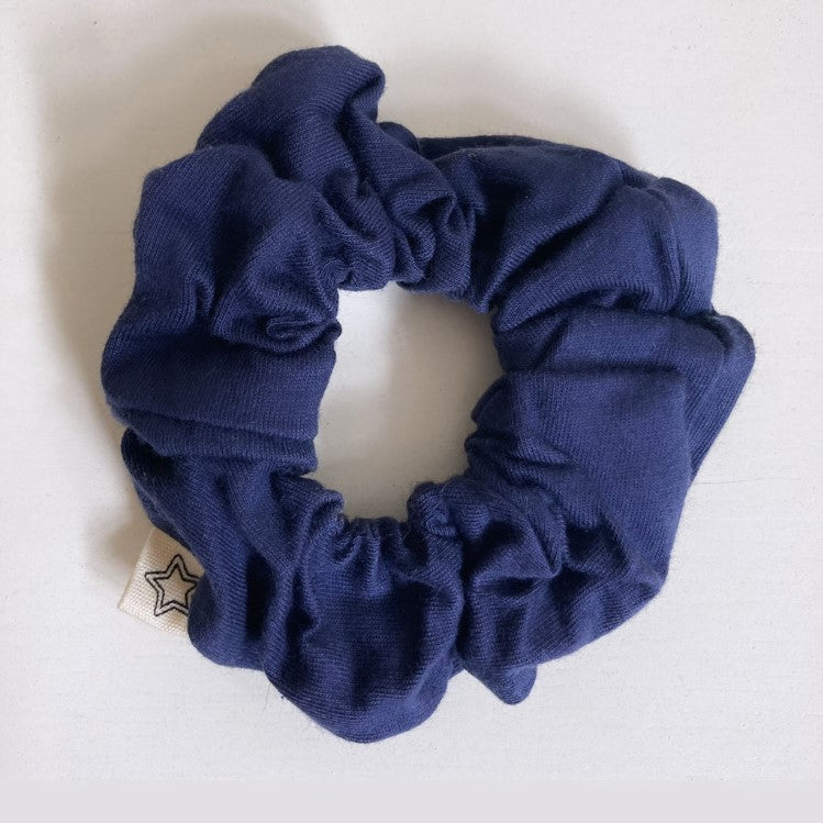 SAVE MAMA EARTH NAVY SCRUNCHIE