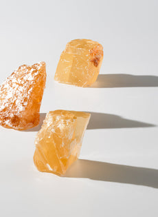 HONEY CALCITE CRYSTAL