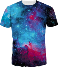 3D Full Print T-Shirt - Galaxy Dark
