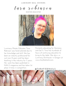 Luminary Certification Class | Oregon Nail Expo