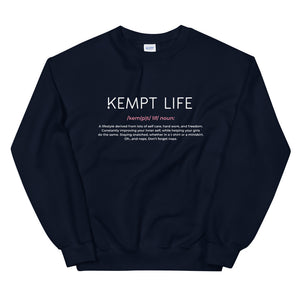 It's a Noun Sweatshirt  Flat Lay