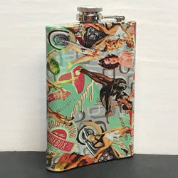 Flask - 50's Pin Up Girls