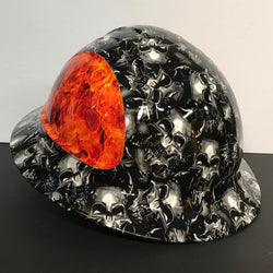 Hard Hat - Demon Skulls & Fire Bomb