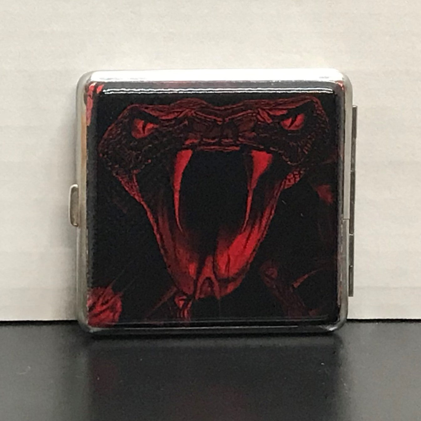 Cigarette Case - Vipers Red