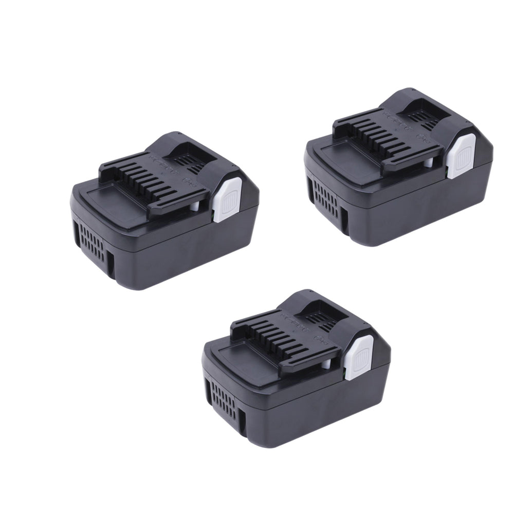 For Hitachi 18V Battery | BSL1830 4.0Ah Li-ion Battery Replacement | 3 Pack