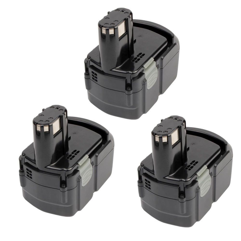 For Hitachi 18V Battery EBM1830 |  4.0Ah Li-ion Battery Replacement 3 Pack