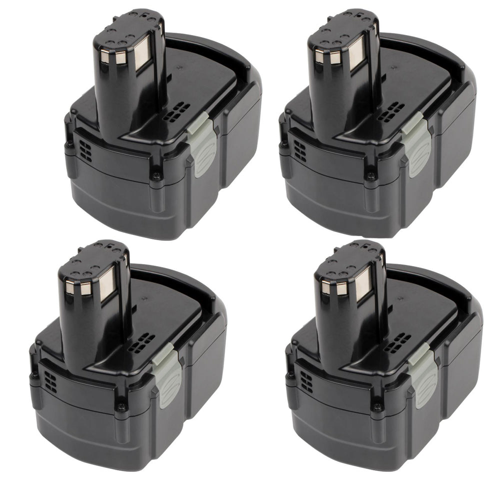 For Hitachi 18V Battery EBM1830 |  4.0Ah Li-ion Battery Replacement 4 Pack
