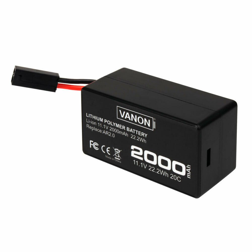 For Parrot AR.Drone 2.0 11.1v Replacement | 2.0Ah Li-ion Battery