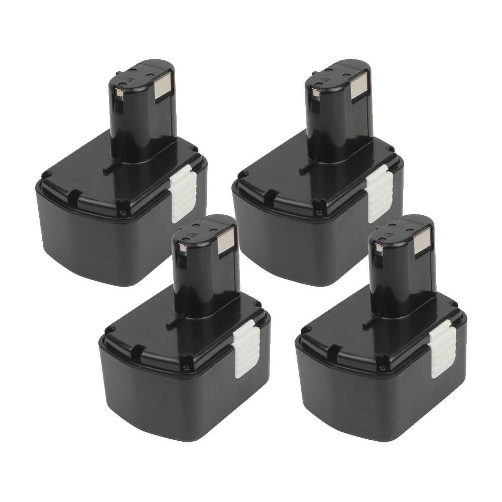 For Hitachi 14.4v Battery Replacement | EB14B 2.0Ah Ni-CD Battery 4 Pack