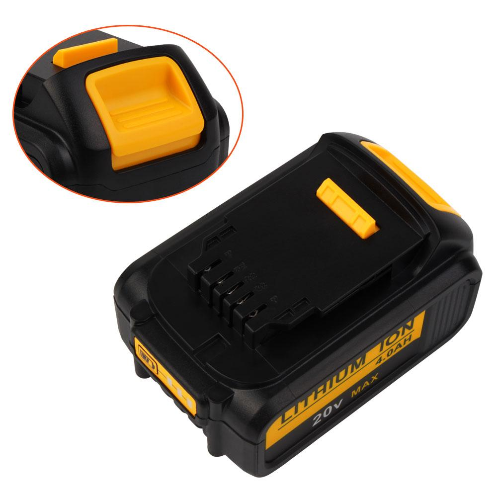 For Dewalt 20V Battery Replacement | DCB200 4500mAh Li-ion Battery | 3