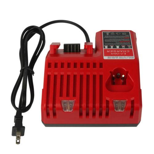 Milwaukee 18V M18 6.0Ah Li-ion Battery Replacement & For Milwaukee 12V-18V Lithium Battery Charger | 2