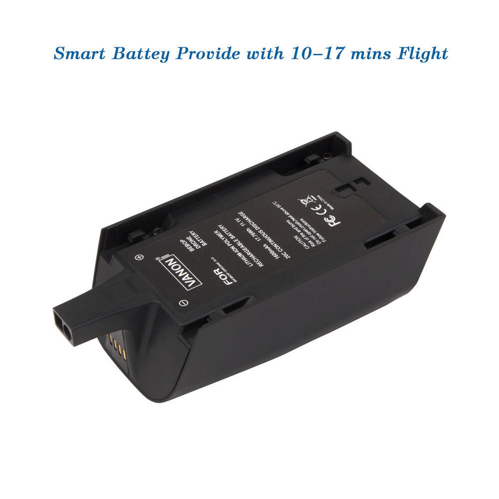 For Parrot Bebop Drone 11.1V Battery Replacement | 1600mAh Li-ion Battery 3 Pack