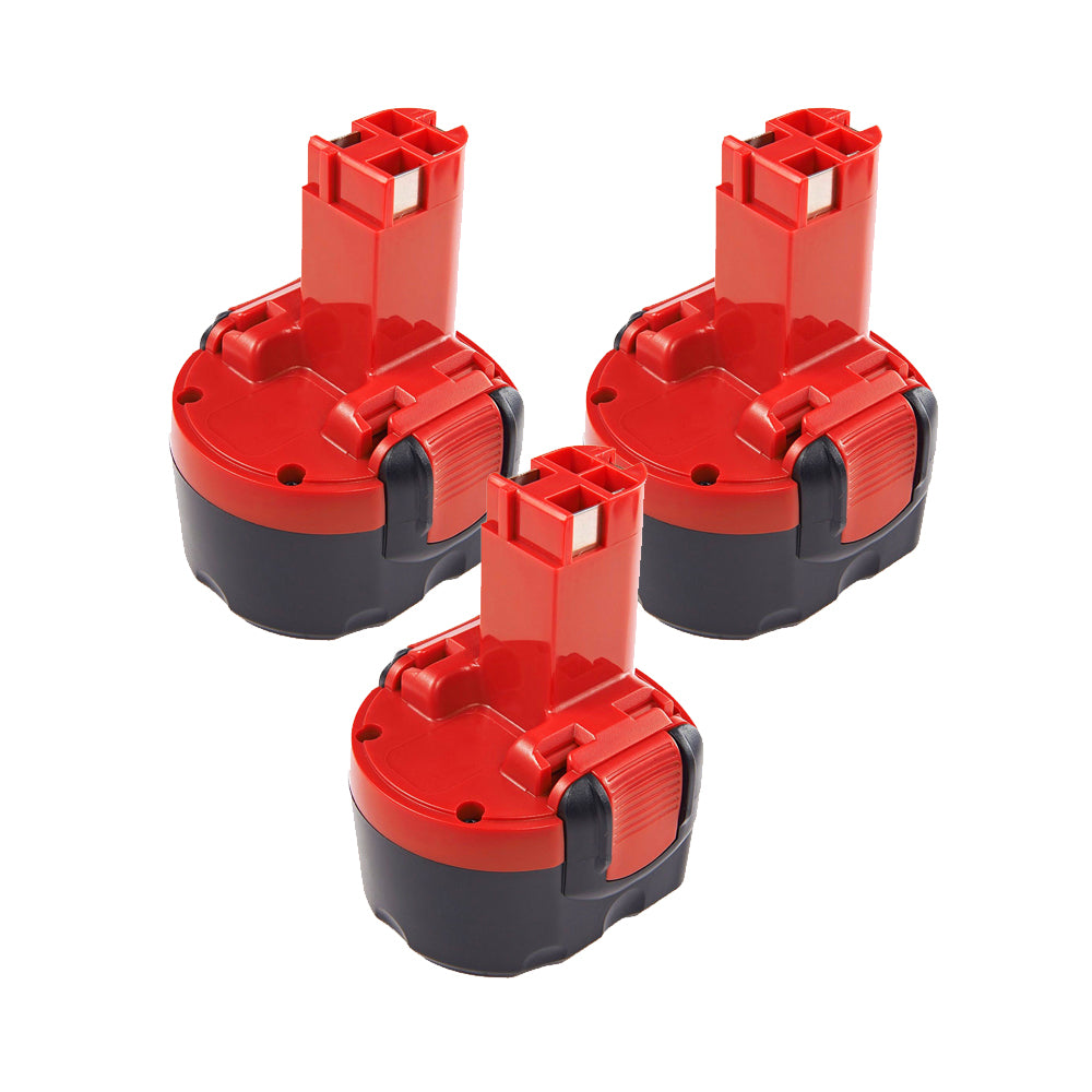 For BOSCH 9.6v 2.0Ah  | BAT048 Ni-CD Battery Replacement 3 Pack
