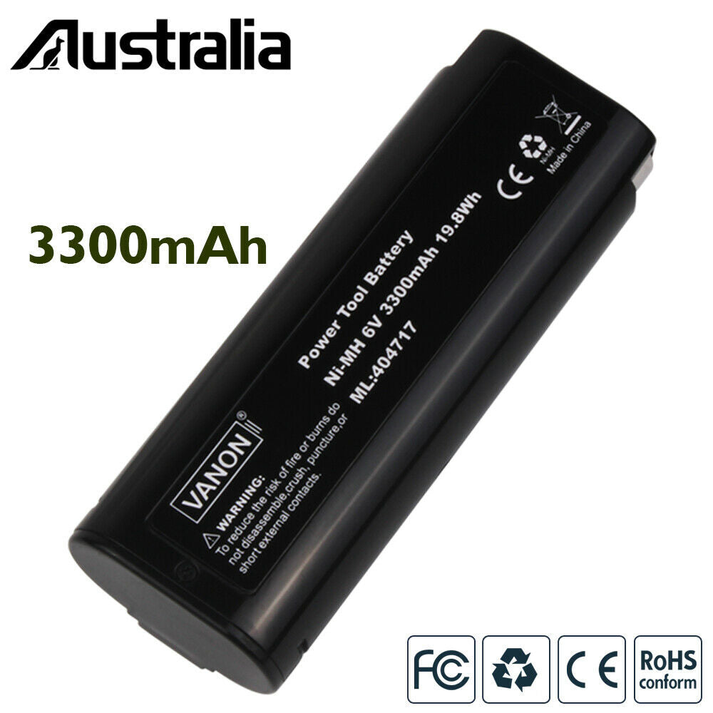 For Paslode 6V Battery Replacement | 404717 3.3Ah Ni-MH Battery 2 Pack