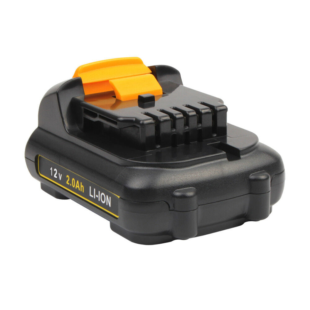 For Dewalt 12V Battery Replacement | DCB120 2.0Ah Li-ion Battery 2 Pack