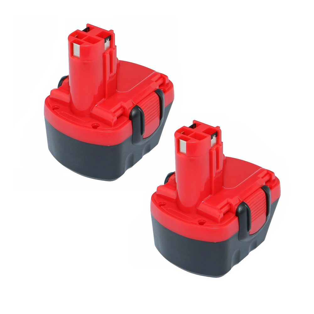 For BOSCH 12V Battery Replacement | BAT043 2.0Ah Ni-CD Battery 2 Pack