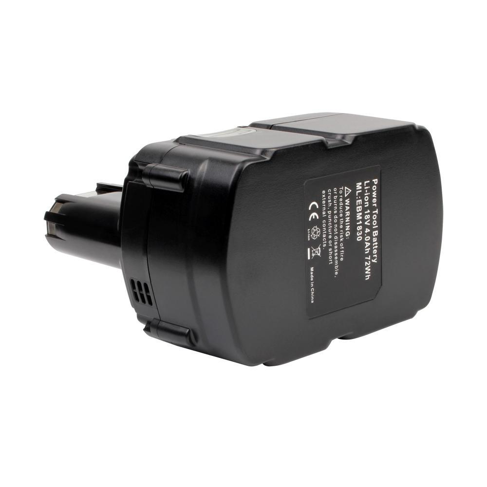 For Hitachi 18V Battery EBM1830 |  4.0Ah Li-ion Battery Replacement