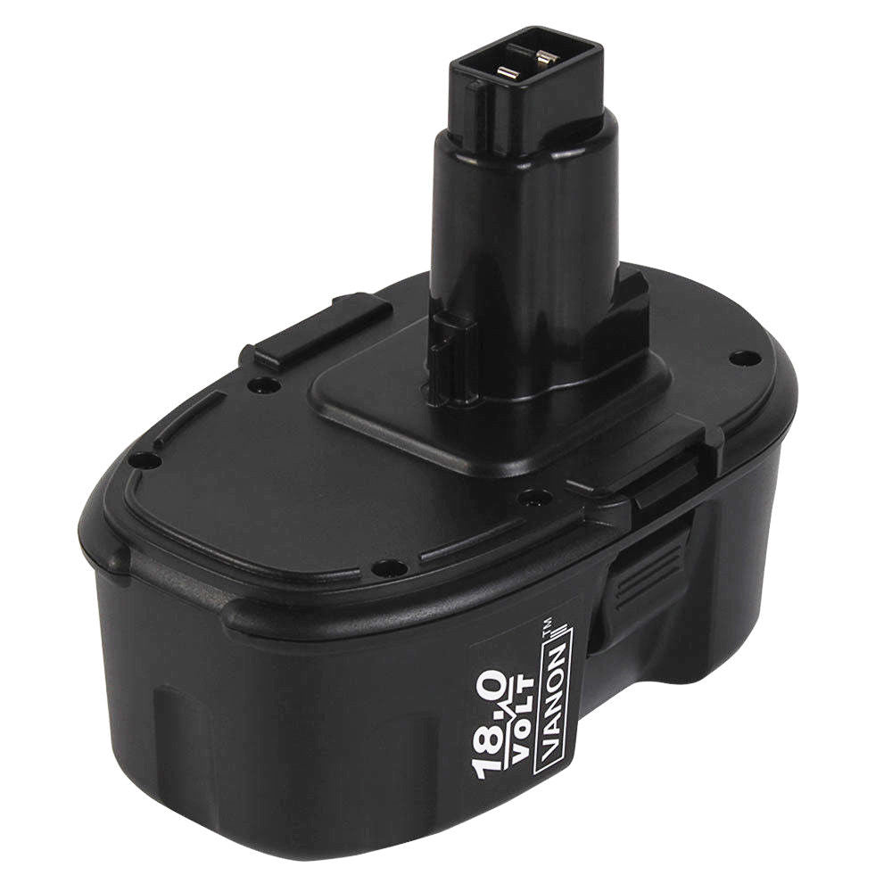 For Dewalt 18V Battery Replacement | DC9096 2.0Ah Ni-CD Black 2 Pack